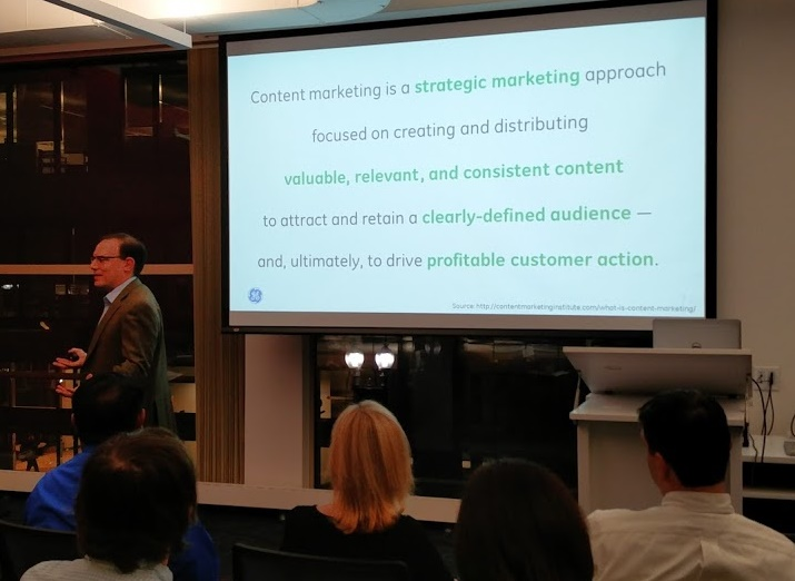 Large AMA Boston Crowd Welcomes Content Marketing Experts