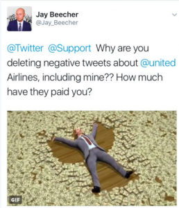 United Airlines More Social Trouble