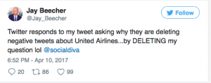 United Social Media Problems