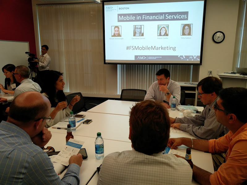 Mobile Marketing for Financial Services: Trends and Tools at AMA Boston Event