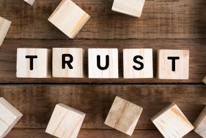 Trust helps influence