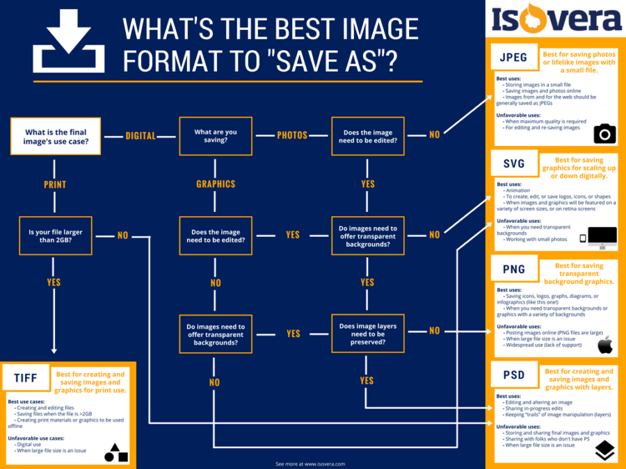 JPEG, PNG, GIF!? A Quick Guide to Image File Types for the